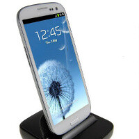 Samsung Galaxy S III accessories shown on video