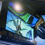"""Sony shows off flexible 9.9"""" OLED panel"""