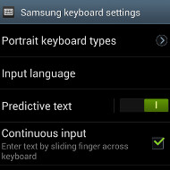 How to turn on Swype text input method on your Samsung Galaxy S III
