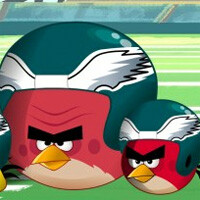 Angry Birds strikes a partnership with the Eagles