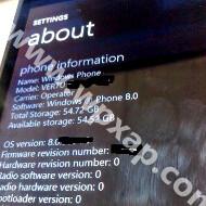 Chucked Nokia Windows Phone 8 prototype with the Vertu brand leaks, carries 64GB of memory