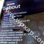 Chucked Nokia Windows Phone 8 prototype with the Vertu brand leaks, carries 64GB of memory