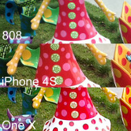 Nokia 808 PureView camera compared to the iPhone 4S and the HTC One X