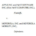Motorola and Apple are each given one last chance before Judge Posner to show validity of suit