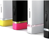 Sony's NXT line transparent bar set as notification light via 3rd party app, Xperia U gets all the colors
