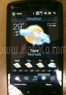 HTC Touch HD has large WVGA display!