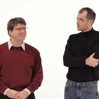 Steve Jobs and Bill Gates face each other in epic rap battle with surprise winner