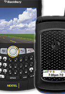 Sprint announced iDEN Curve and rugged clamshell