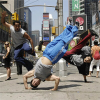 Samsung beaming your best dance moves from the Galaxy S3 to the big screen in Times Square this weekend