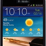 Pictures leak of the T-Mobile branded Samsung GALAXY Note; launch expected July 11th