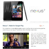 Google Nexus 7 tablet specs and video promo leak minutes before the announcement
