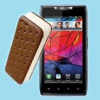 GSM Motorola RAZR gets in with its own Ice Cream Sandwich update