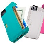 CM4's case for the iPhone 4/4S doubles as a wallet - lessens the bulk in your pockets