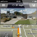Navigon v2.1 for iOS incorporates Google Street View function and manual route blocking