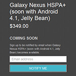 Galaxy Nexus no longer available in the Play Store