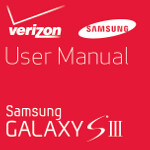 Verizon's Samsung Galaxy S III user manual is now online