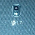 Verizon's variant of the LG Optimus LTE II shot by photographer