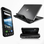 Motorola says the ATRIX HD will not support the Lapdock or WebTop
