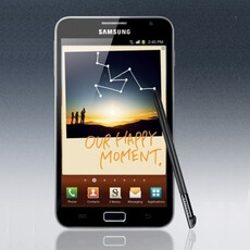 Samsung Galaxy Note for T-Mobile is announced officially, coming in a few weeks