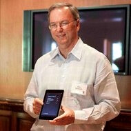 Slip of the tongue: Eric Schmidt says Google always wanted in on the