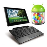 Asus Eee Pad Transformer and Eee Pad Slider will be updated to Jelly Bean