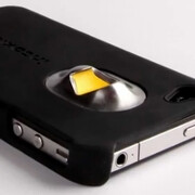 iPhone case will open, count your beers, and call a cab later, kind of