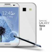 Samsung Galaxy Note II might have the quad-core processor of the Galaxy S III, clocked at 1.6GHz