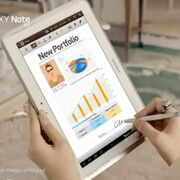 Samsung Galaxy Note 10.1 ad appears, targets the suit-wearing kind