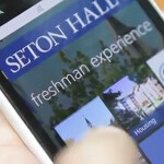 Seton Hall freshmen get their Nokia Lumia 900 handsets