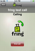 Fring now available in iPhone's App Store