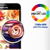 Samsung said to reach 350ppi pixel density with current production tech, we await Super AMOLED HD Plus