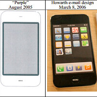 "Apple counterstrikes with a 2005 ""Purple"" phone prototype, moves to dismiss the Sony-Jony design as evidence"