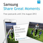 Send free Touchnote postcards, courtesy of Samsung, through the end of August