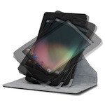 Official accessories for your Nexus 7 include a rotating stand case
