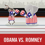 Obama and Romney both release apps, Romney to announce VP with his
