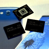 Samsung's industry-fastest 64GB mobile memory chips enter mass production