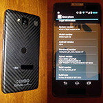 Two new pictures of the DROID RAZR HD leak out