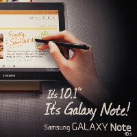 Samsung Galaxy Note 10.1 suddenly up for pre-order, ships today