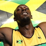 Fastest man in the world is a BlackBerry user