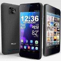 BLU Products unveils dual-SIM VIVO 4.3: dual-core processor and Super AMOLED Plus screen for affordable price