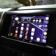 See how the Google Nexus 7 transforms into a car's entertainment system