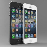 The iPhone 5 might look like this when held