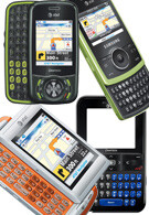 AT&T announced four new QWERTY phones
