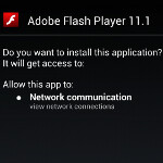 Directions on how to manually install Adobe Flash Player on your Android device