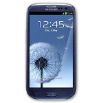 Samsung Galaxy S III running Android 4.1.1 captured on video