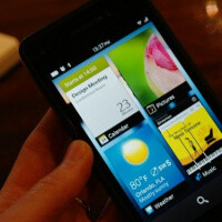 """First BlackBerry 10 """"full touch"""" device will come with a 768 x 1280-pixel screen"""