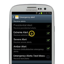 How to stop those annoying emergency alerts on your Verizon or Sprint Samsung Galaxy S III