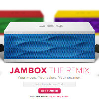 Jawbone Jambox The Remix brings punchy color combos, lets users decide how to mix it