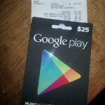 Option to redeem gift cards now showing up in Google Play Store