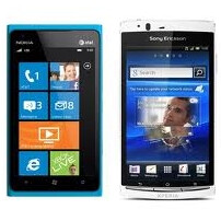 """Apple whips out a Nokia Lumia and Xperia arc at court and says """"Not every phone needs to look like an iPhone!"""""""